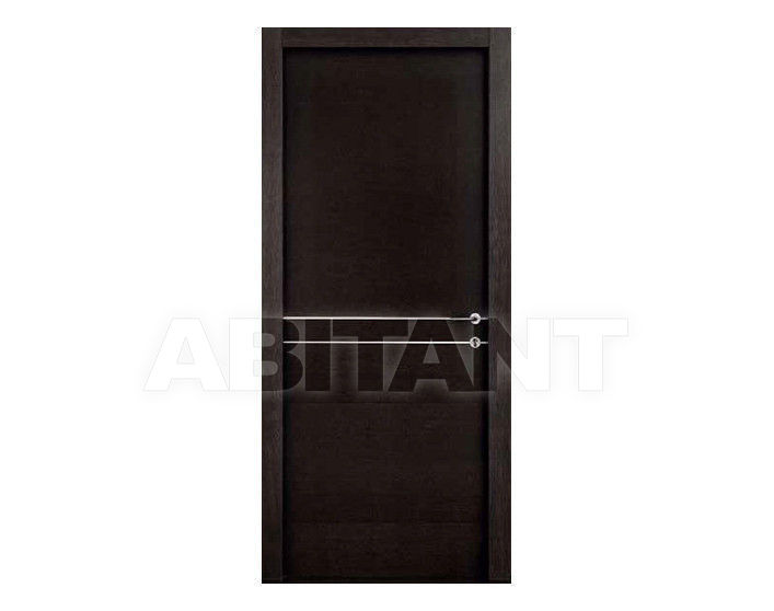 "Купить Дверь деревянная Dorica Castelli Essenze SERIE ""LT"" modello 401 + ALLUMINIO 2"
