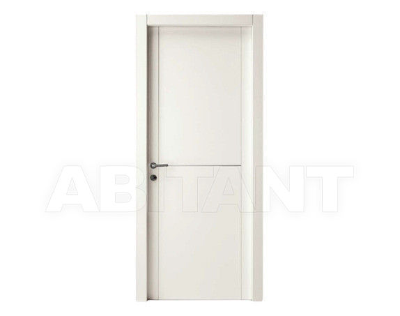 "Купить Дверь деревянная Dorica Castelli Laccati SERIE ""M4"" modello 81+ALLUMINIO 1"