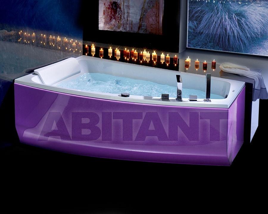 Купить Ванна гидромассажная BluBleu Free Color Shiva' Color