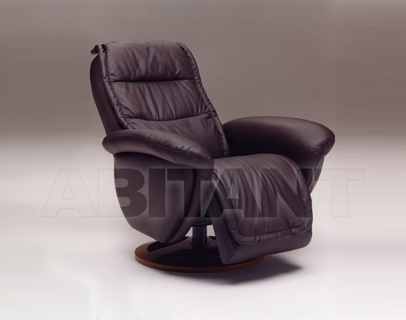 Купить Кресло ULYSSE Satis S.p.A Collezione 2011 ULYSSE Armchair Swivel (incorporated footrest)