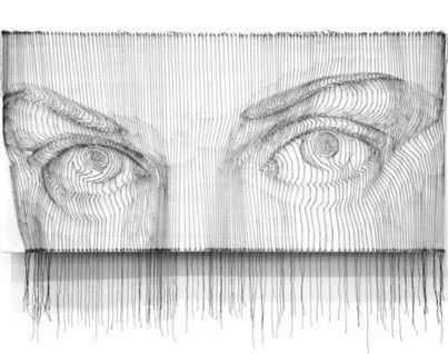 Инсталлляция Взгляд