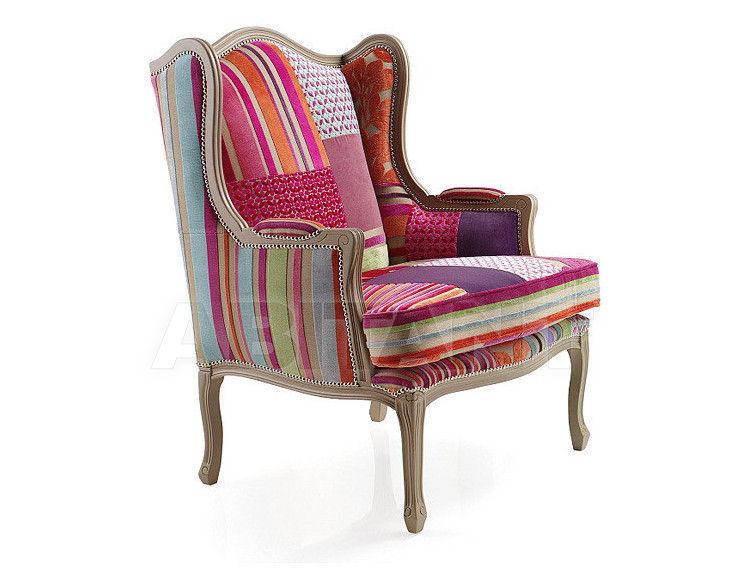 Купить Кресло PATCHWORK G&G Imbottiti  Color PATCHWORK