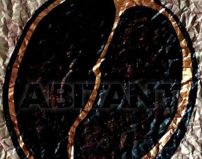Гранат (акрил, тушь, бумага)