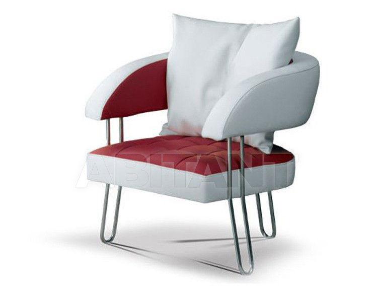 Купить Кресло Formenti Divani Contemporary Denise Poltrona con cuscino cm. 74x78