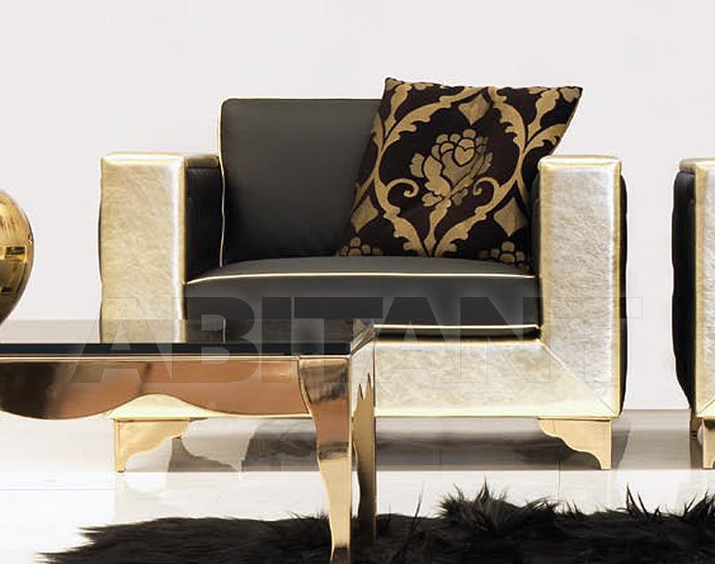 Купить Кресло Formenti Divani Lumiere MUSEO ARMCHAIR