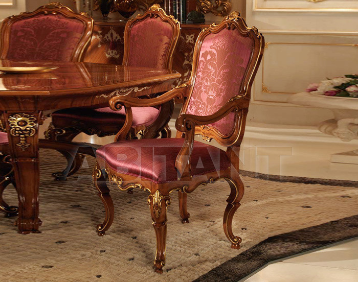 Купить Стул с подлокотниками Bianchini Decor Royal 7561