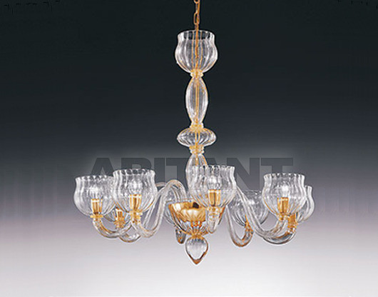 Купить Люстра Voltolina Classic Light srl Glam&glass accademia 8L
