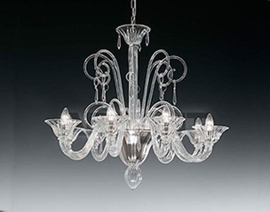 Купить Люстра Voltolina Classic Light srl Glam&glass Susp. Bach 8L