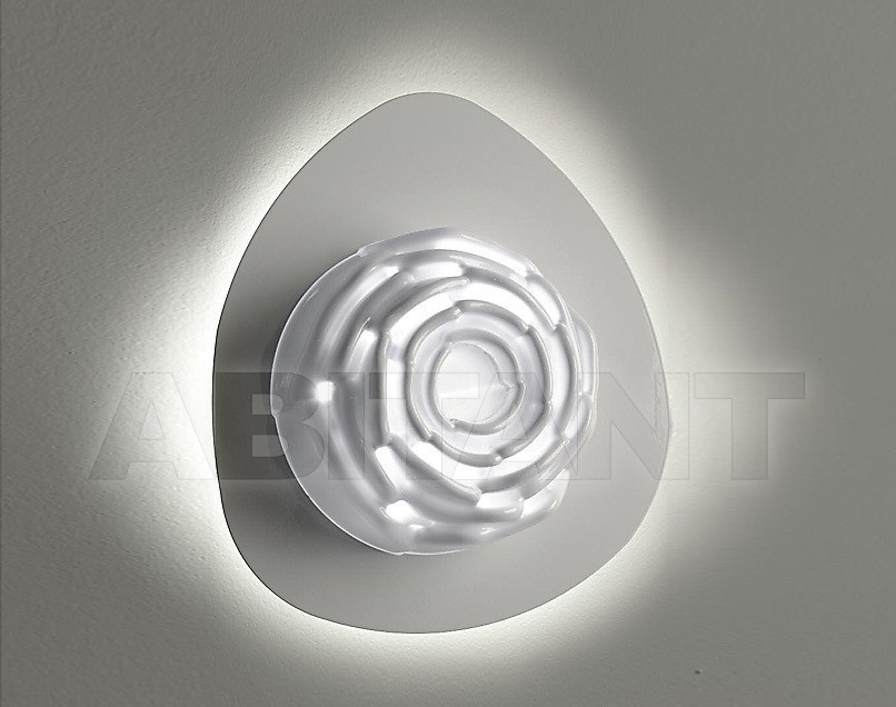 Купить Светильник настенный Disegno Luce Srl 2011 EDEN 1 W DISC WHITE