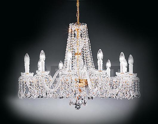 Купить Люстра Voltolina Classic Light srl Cristallo Barcellona 12L