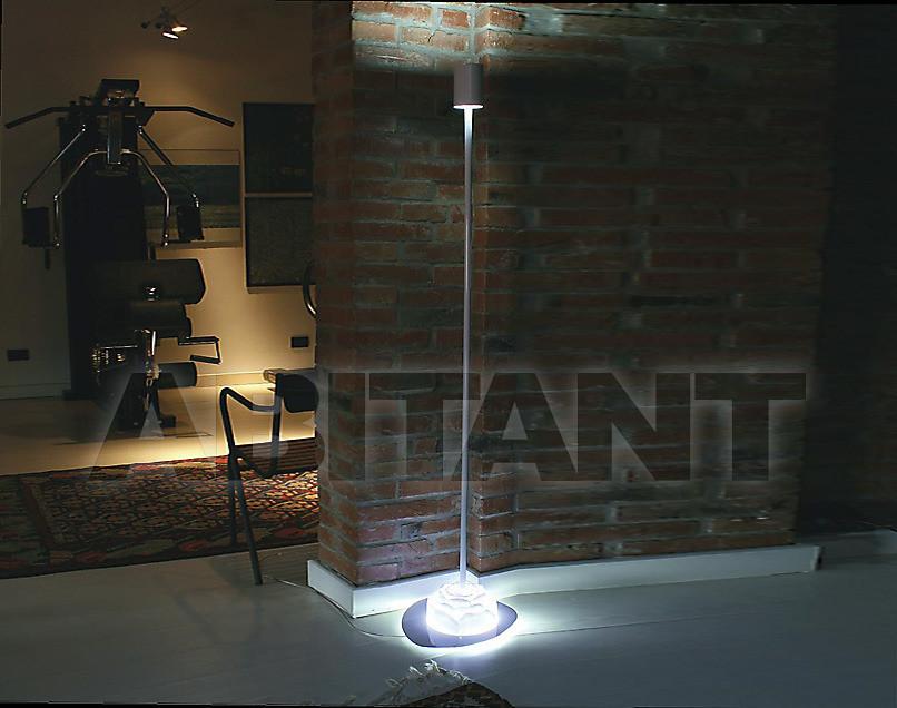 Купить Лампа напольная Disegno Luce Srl 2011 EDEN F WHITE METAL