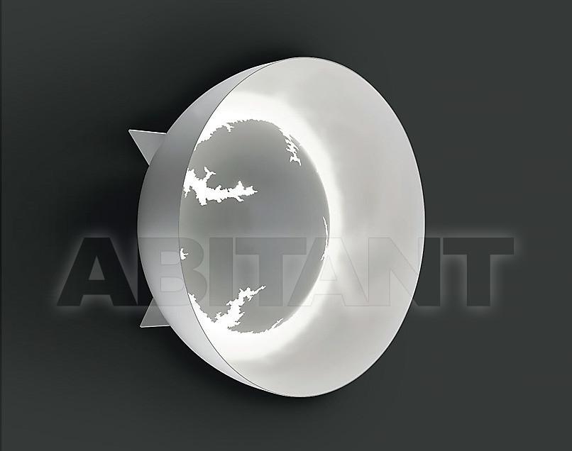 Купить Светильник настенный Disegno Luce Srl 2011 BUZZ W+C+F Ø 72 WHITE