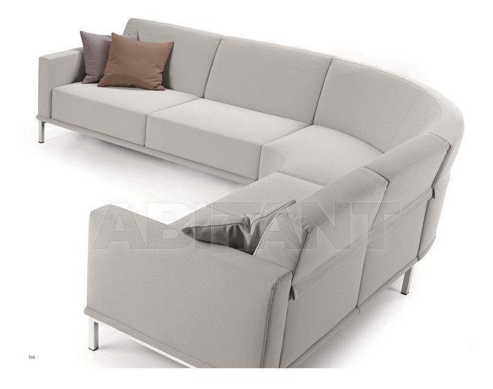 Купить Диван Biba Salotti srl Italian Design Evolution gaio Terminale dx-sx cm 174; Ang. tondo 93x93;  Terminale dx-sx cm 154