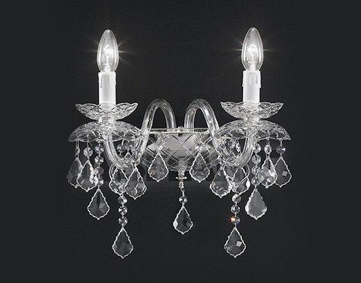 Купить Бра Voltolina Classic Light srl Cristallo Temptation Wall lamp