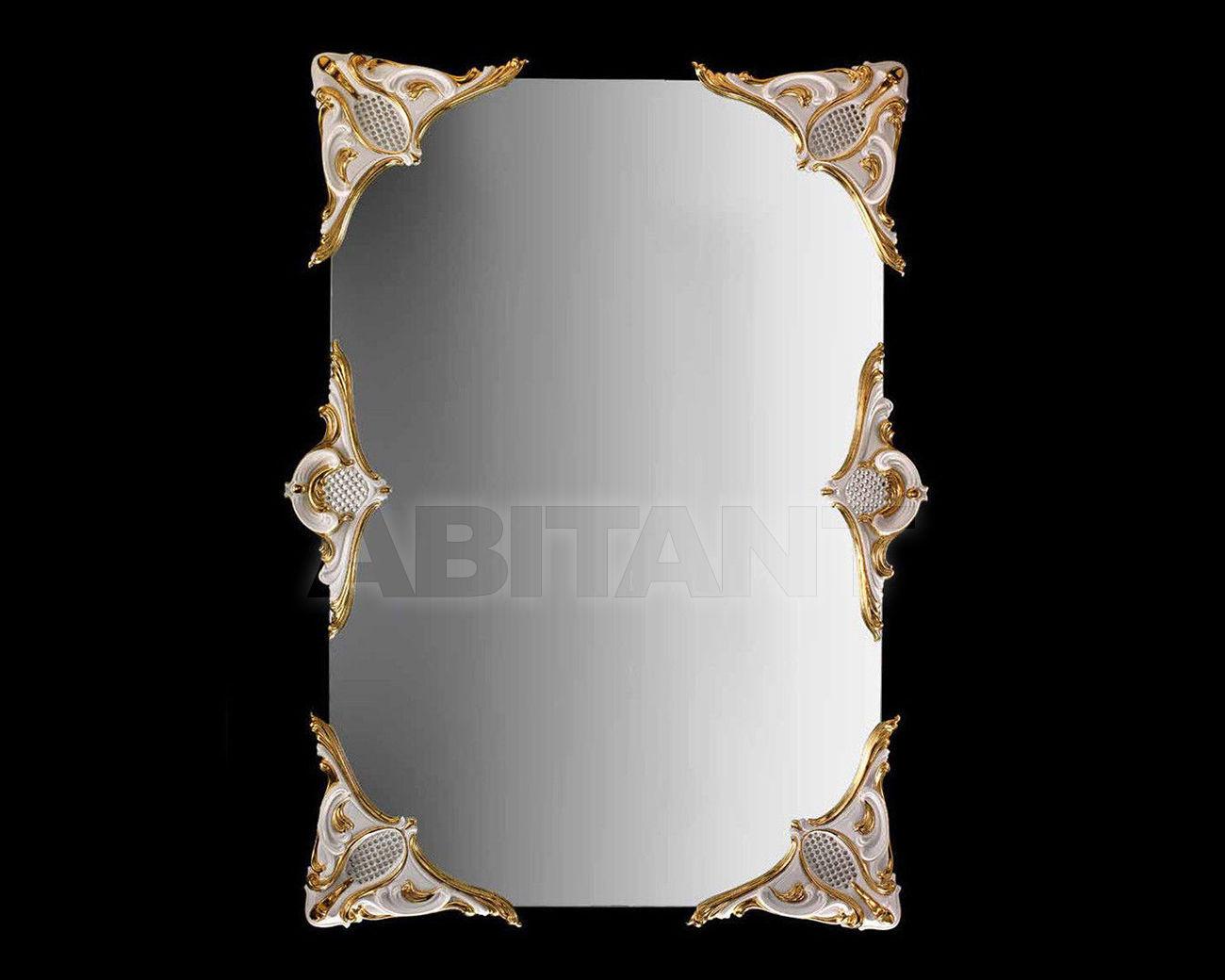 Купить Зеркало настенное Ceramiche Lorenzon  Specchi L.893/6/BO