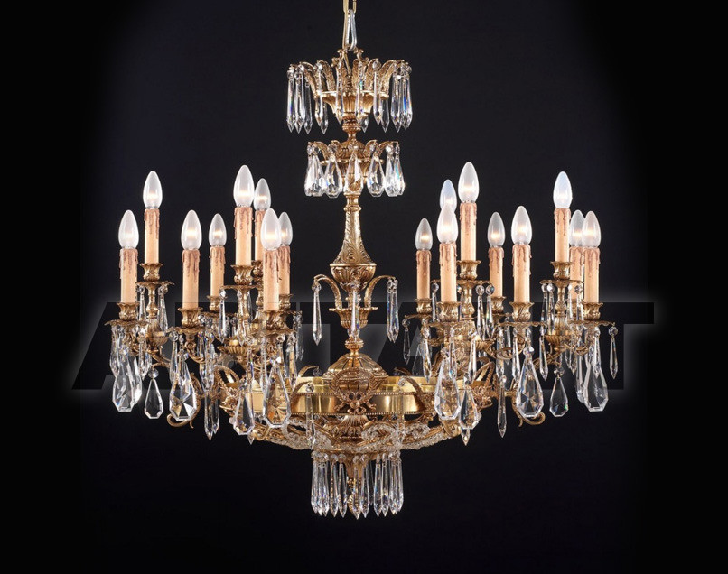 Купить Люстра Badari Lighting Candeliers With Crystals B4-420/18