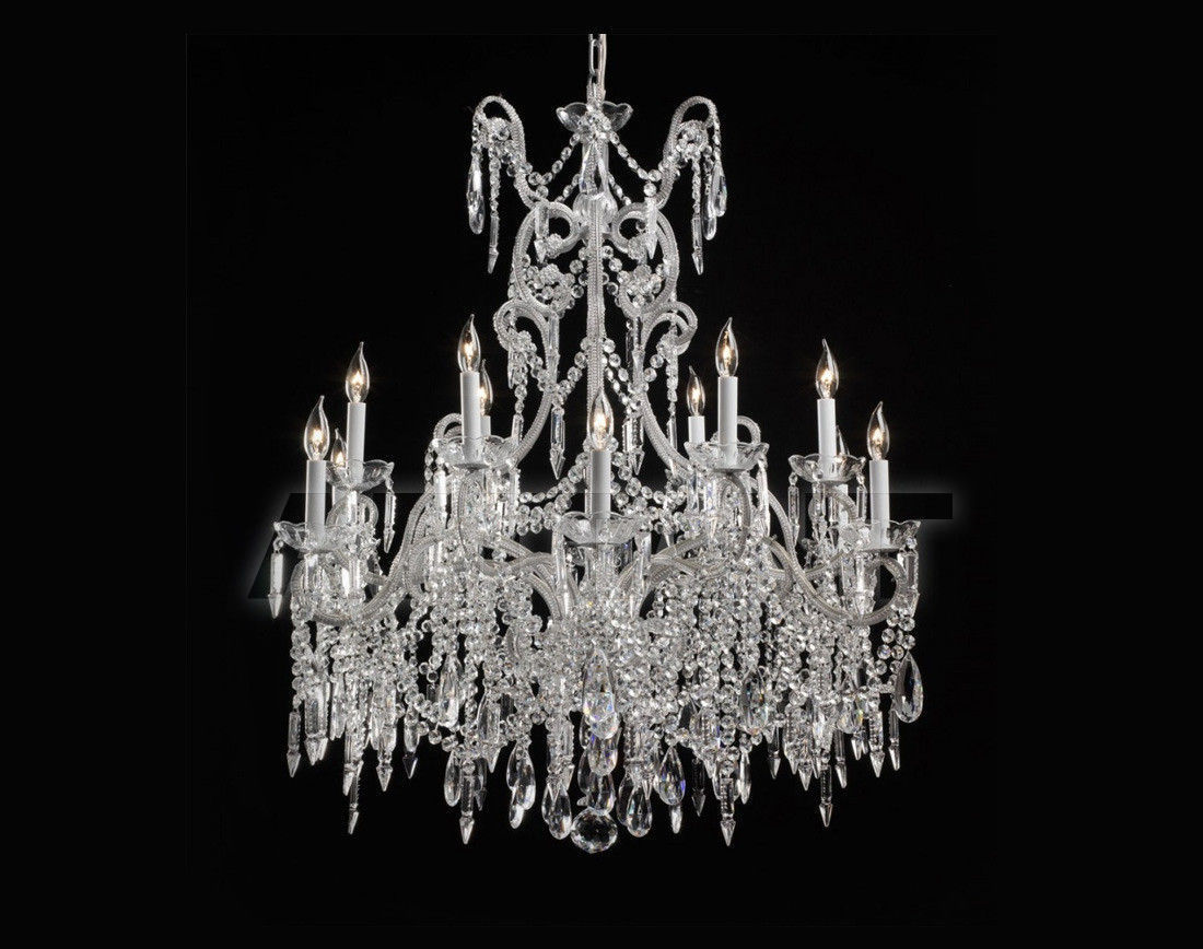 Купить Люстра Badari Lighting Candeliers With Crystals B4-47/12