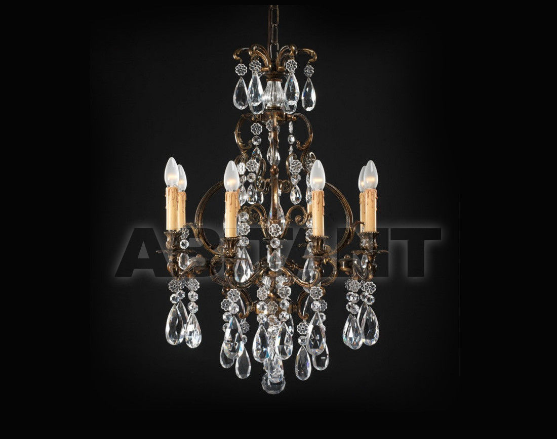 Купить Люстра Badari Lighting Candeliers With Crystals B4-220/8