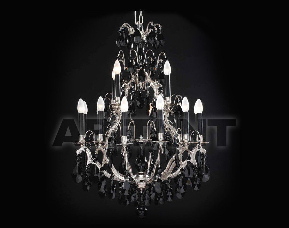 Купить Люстра Badari Lighting Candeliers With Crystals B4-1616/16BLK