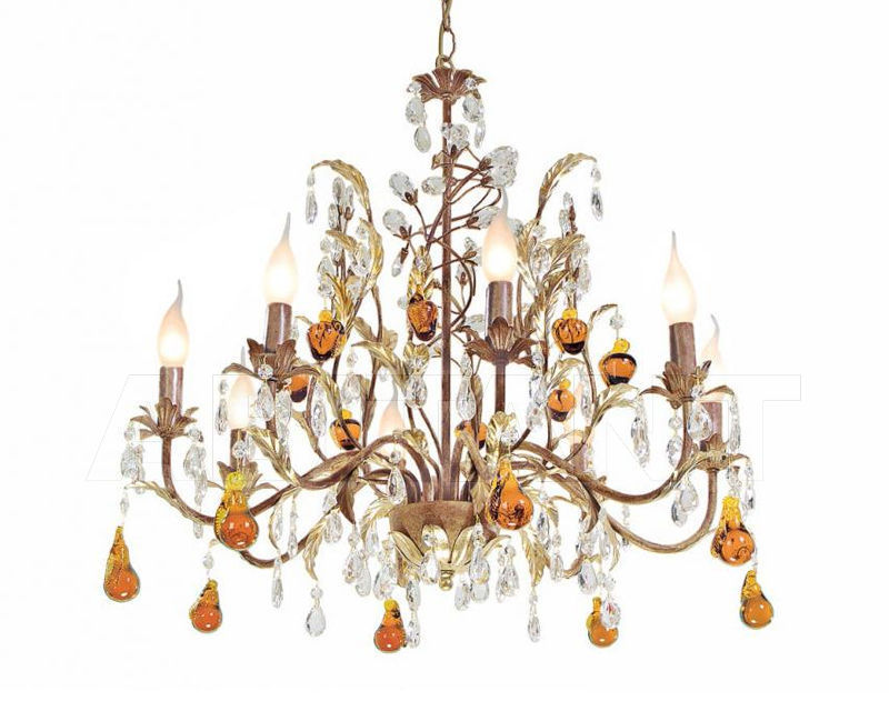 Купить Люстра Cigno Eurolampart srl Decor & Light 862/08LA