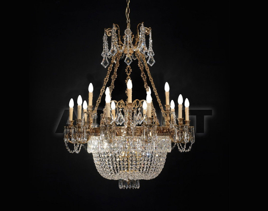 Купить Люстра Badari Lighting Candeliers With Crystals B4-706/15+6