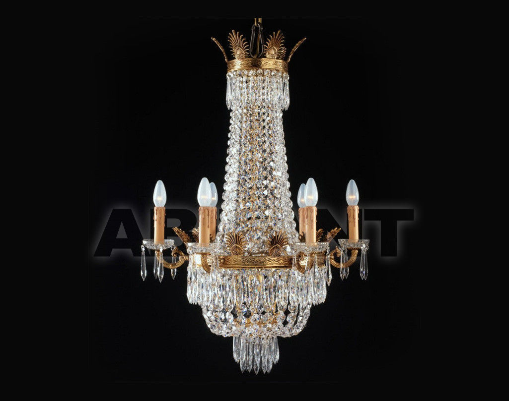 Купить Люстра Badari Lighting Candeliers With Crystals B4-701/6AF