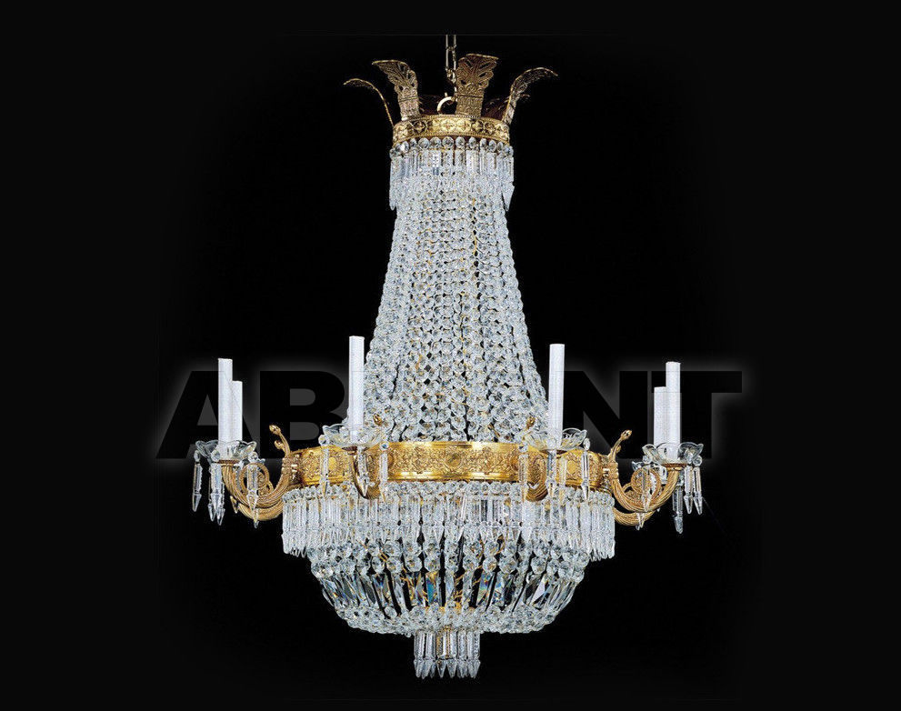 Купить Люстра Badari Lighting Candeliers With Crystals B4-700/8