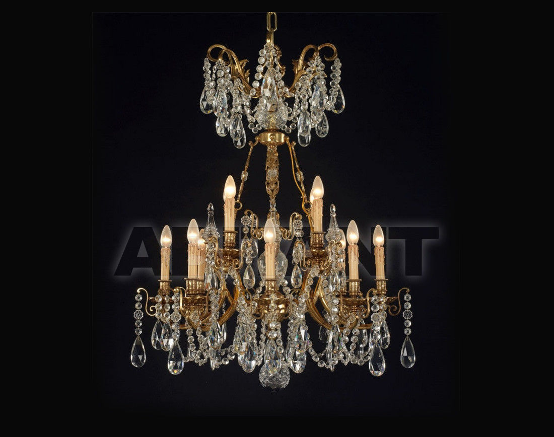 Купить Люстра Badari Lighting Candeliers With Crystals B4-449/12