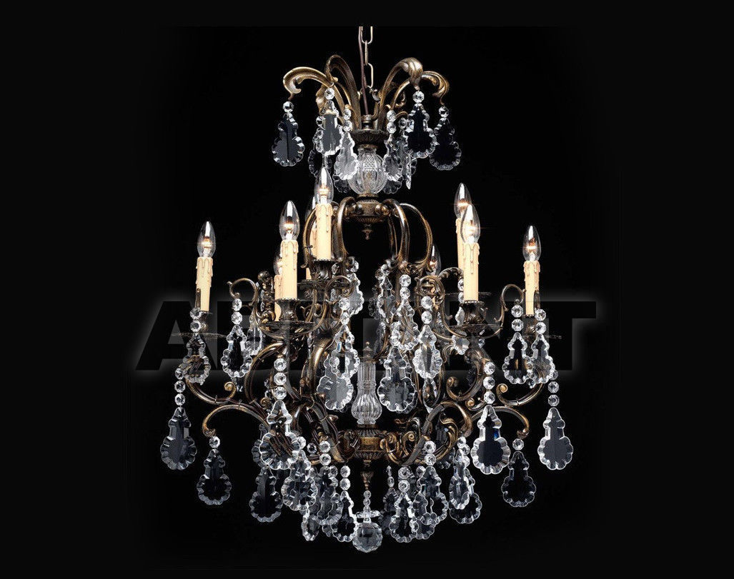 Купить Люстра Badari Lighting Candeliers With Crystals B4-66/9