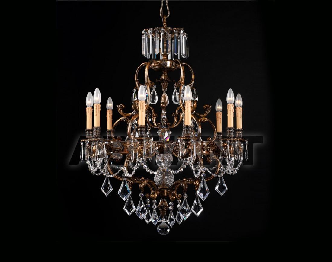 Купить Люстра Badari Lighting Candeliers With Crystals B4-445/10