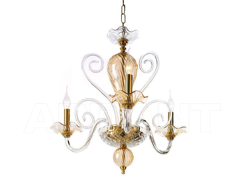 Купить Люстра Ciciriello Lampadari s.r.l. Lighting Collection NINFEA lampadario 3 luci