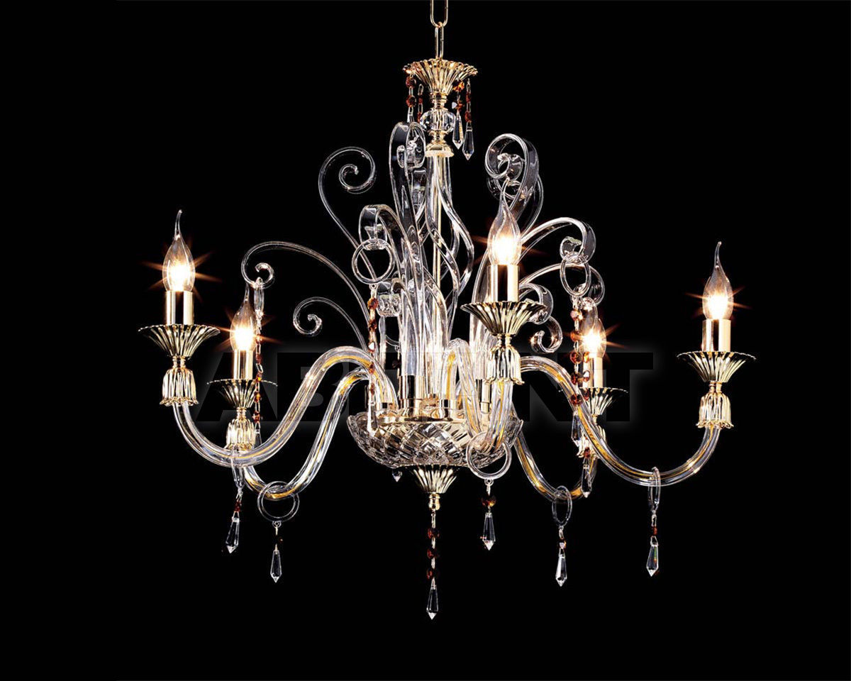 Купить Люстра Ciciriello Lampadari s.r.l. Lighting Collection INGRID lampadario 5 luci
