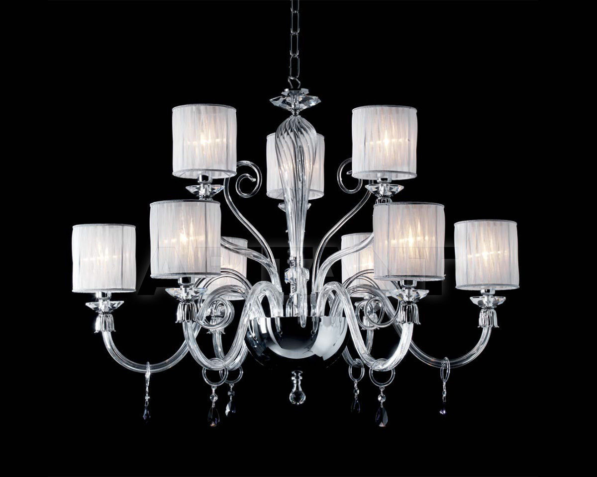 Купить Люстра Ciciriello Lampadari s.r.l. Lighting Collection LUCY lampadario 9 luci