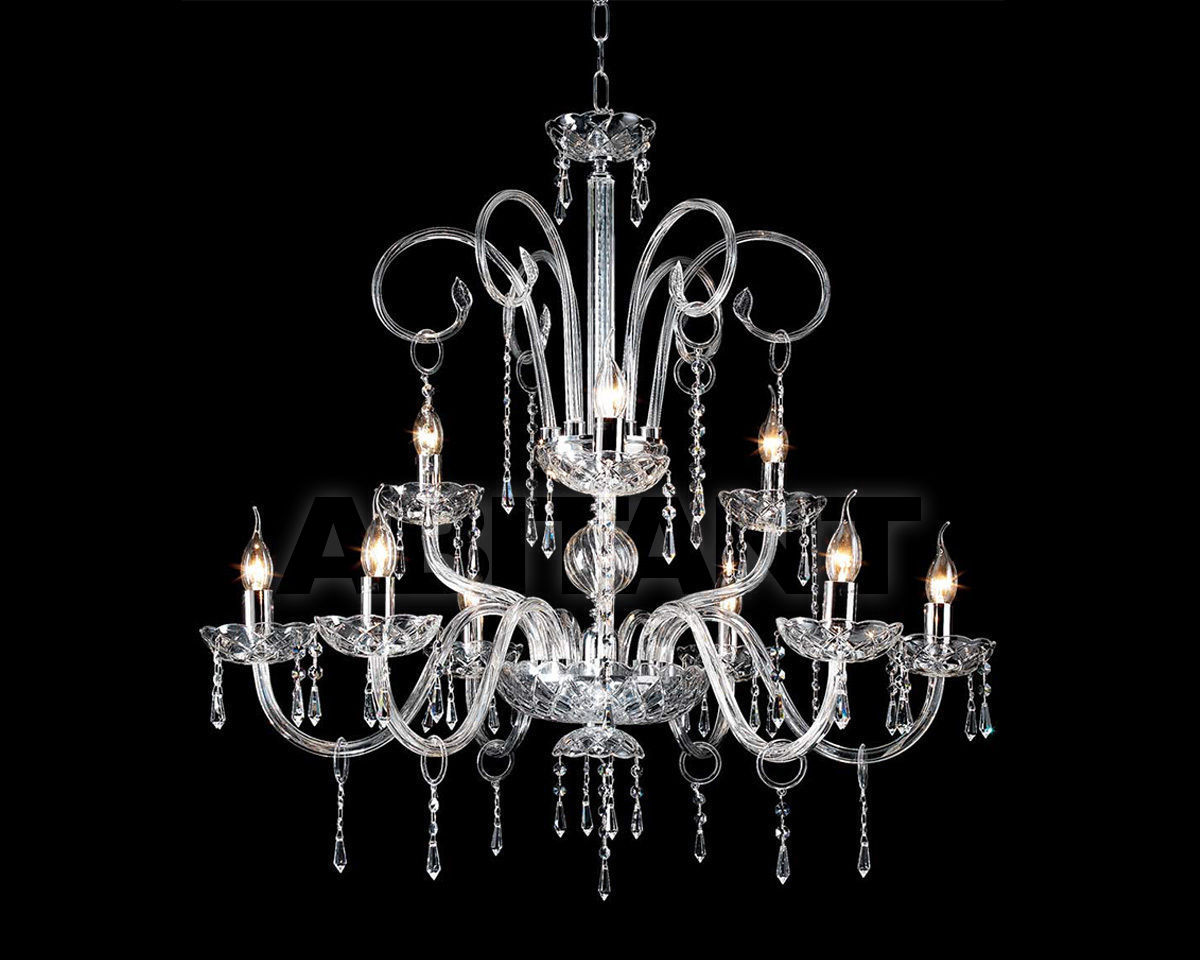 Купить Люстра Ciciriello Lampadari s.r.l. Lighting Collection CARMEN lampadario 9 luci
