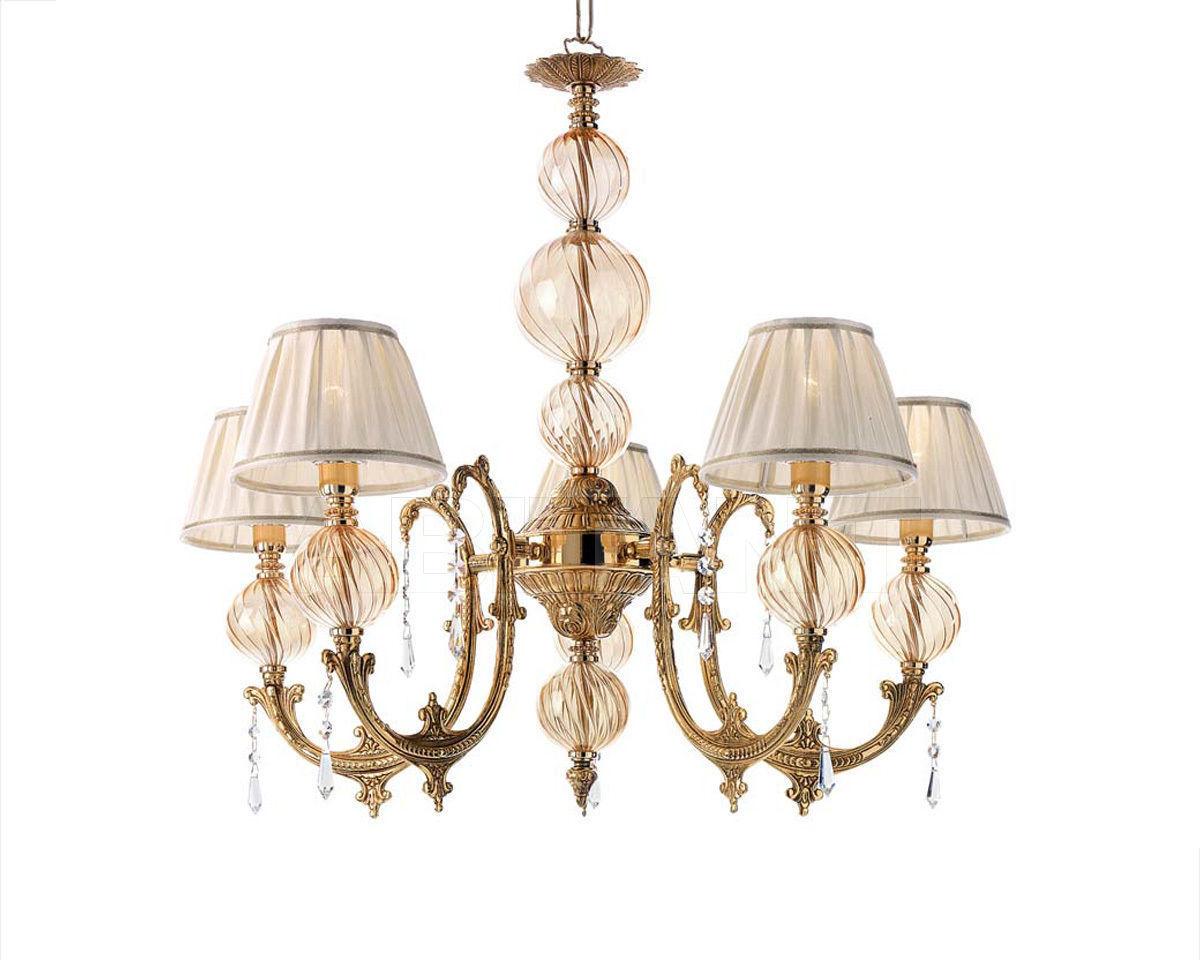 Купить Люстра Ciciriello Lampadari s.r.l. Lighting Collection NEW AMBER lampadario 5 luci