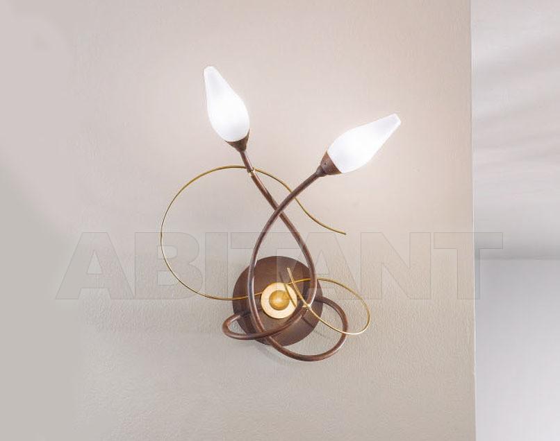 Купить Светильник настенный ARMONIA Masca Sommary 1832/A2 * tabacco oro