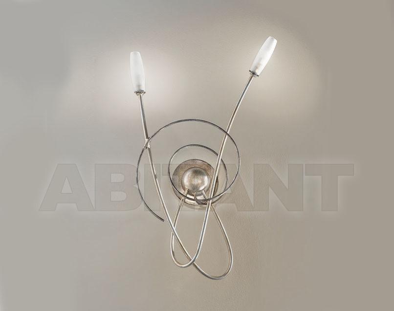 Купить Светильник настенный MISS IRONY Masca Sommary 1681/A2P * argento acido