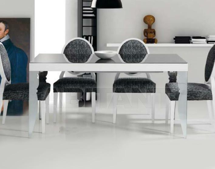 Купить Стол обеденный Di Lazzaro Tavoli Vetro Luxor - t 885