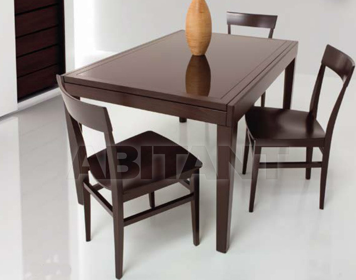 Купить Стол обеденный Di Lazzaro Tavoli Vetro MIAMI - t 80