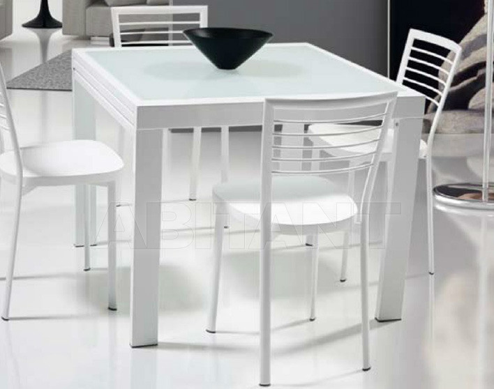 Купить Стол обеденный Di Lazzaro Tavoli Vetro OPEN - t 210