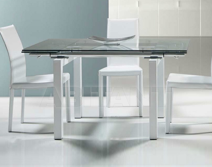 Купить Стол обеденный Di Lazzaro Tavoli Vetro Sky - t 58