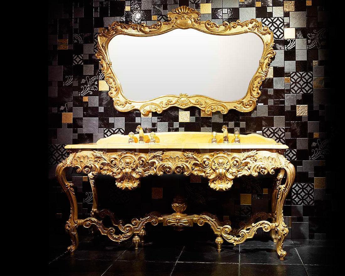 Консоль золотая Bianchini & Capponi 4508/180DN , мебель для ванной ...