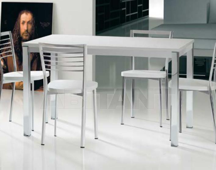 Купить Стол обеденный Di Lazzaro Tavoli Laminati SILVER - t 87