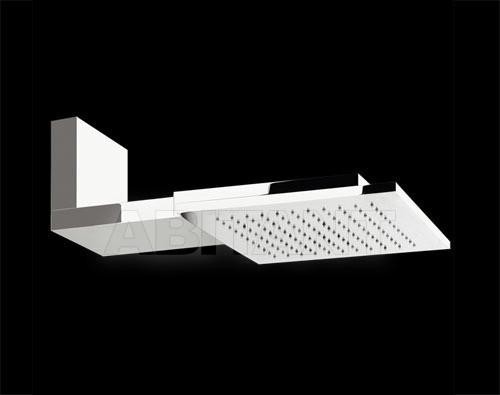 Купить Лейка душевая настенная QUADRO Gessi Spa Bathroom Collection 2012 32801 238 Mirror Steel
