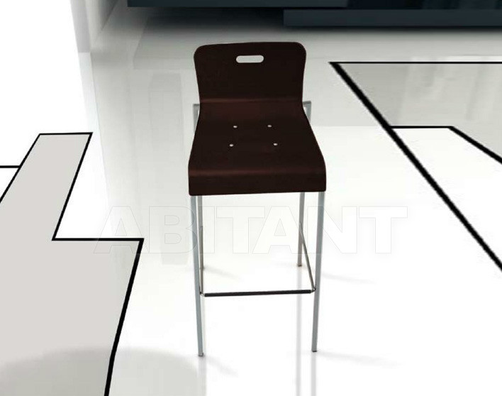 Купить Барный стул Di Lazzaro Sedie E Sgabelli In Metallo PLEXY fix sgabello - 627