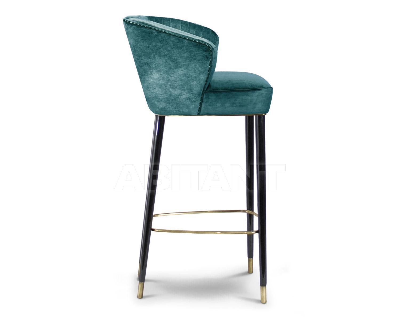 Барный стул цвет бирюзовый