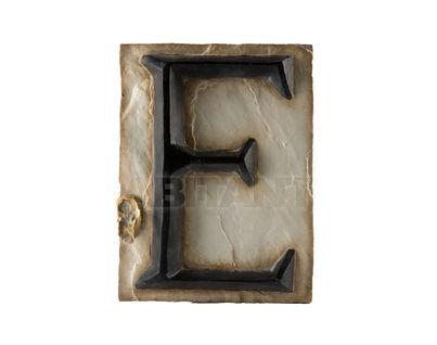 Панно Буква E (черно-белый)