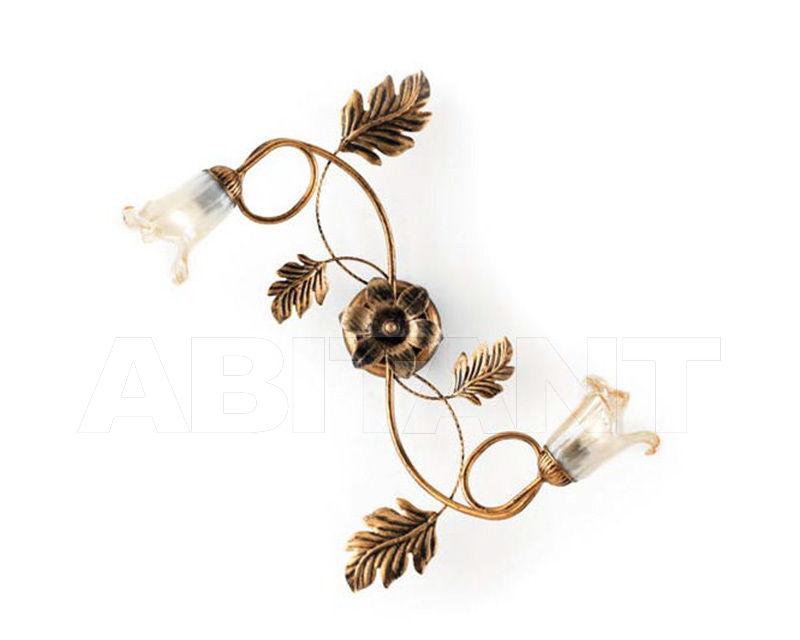 Купить Светильник Ciciriello Lampadari s.r.l. Lighting Collection 2490 ruggine plafoniera 2 luci