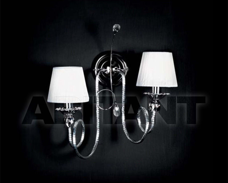 Купить Бра Ciciriello Lampadari s.r.l. Lighting Collection 2165 cromo applique 2 luci