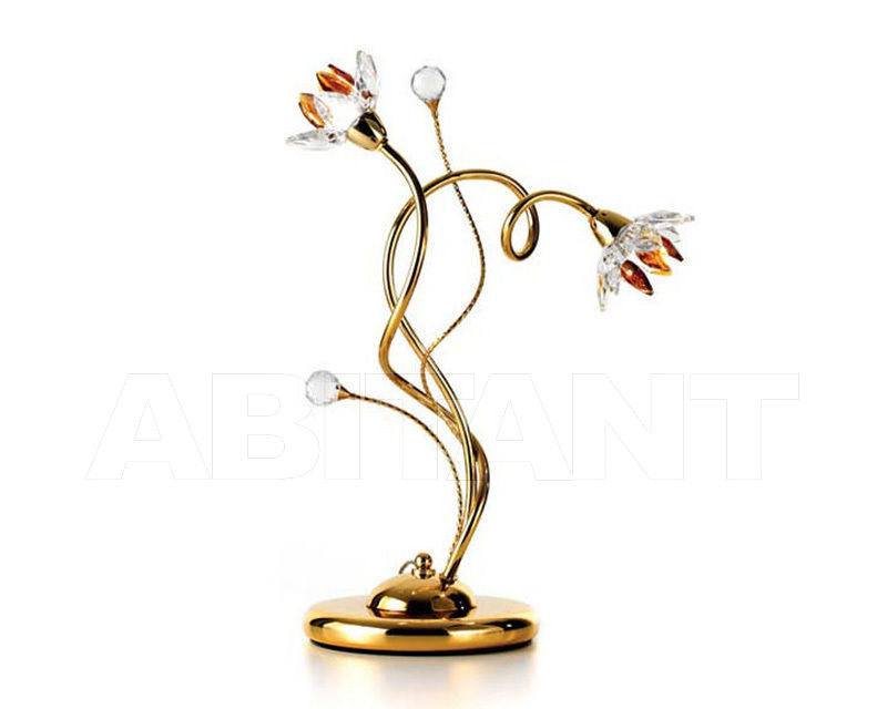 Купить Лампа настольная Ciciriello Lampadari s.r.l. Lighting Collection 2012 oro lume grande 2 luci